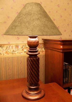 Tischleuchte Holz Genova B
